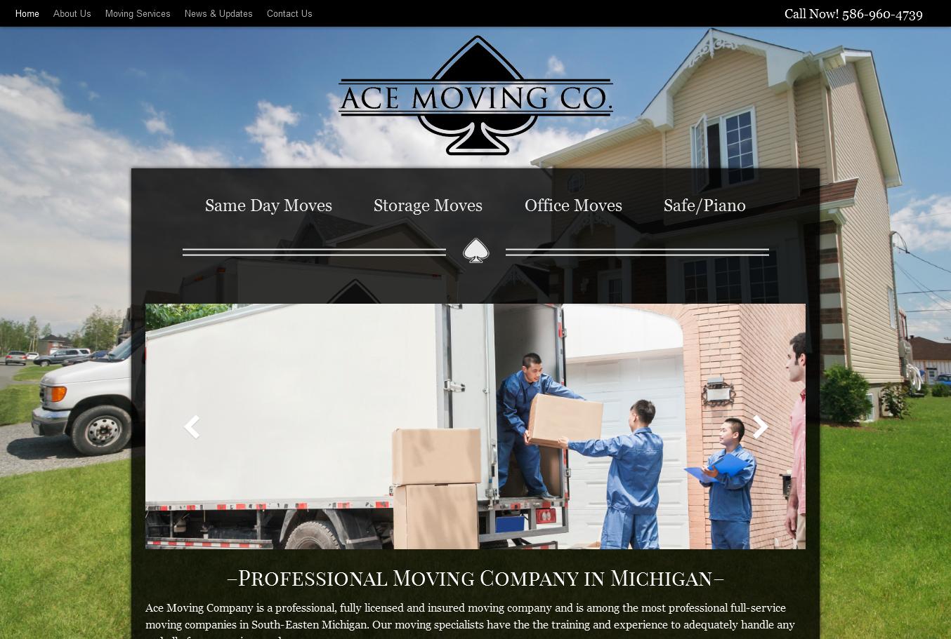 Ace Moving Company – acemovingmi.com