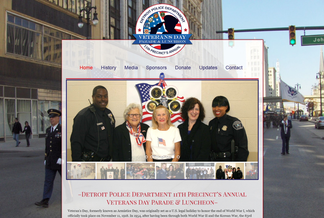 DPD 11th Precinct Veterans Day Parade & Luncheon