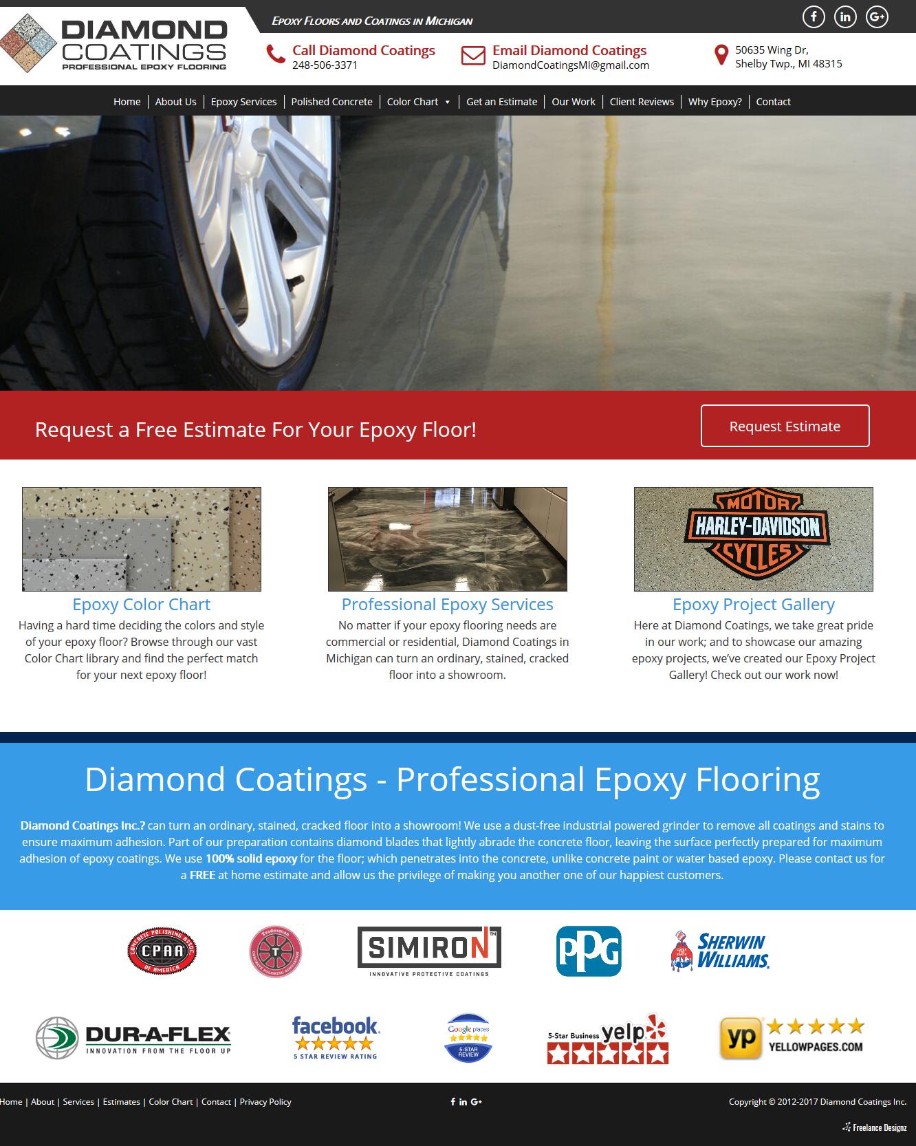 Diamond Coatings – Epoxy Floors and Coatings